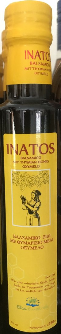 Inatos - Balsamico Essig - 250 ml