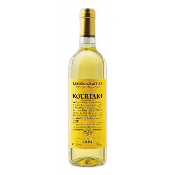 Retsina Kourtaki - 750 ml - 11,5% Vol.