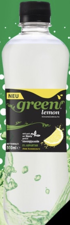 Green Lemon 0,5l PET - 6er inklusive Pfand